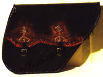 "Packtasche/Saddlebag ""Burning Claw"""